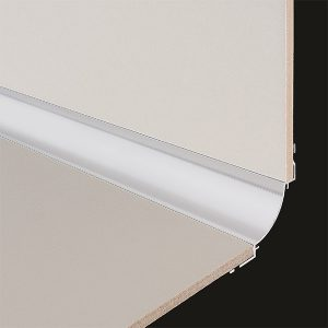 DTA Aluminium Cove Trim Plain