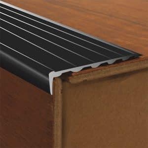 DTA Trim Aluminium Stair Nosing Black