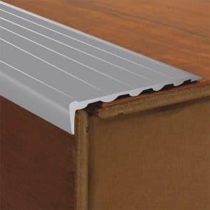 DTA Trim Aluminium Stair Nosing Matte Silver