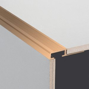 DTA Trim Step Edge Matte Bronze