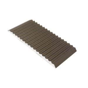DTA Trim Aluminium Tread Plate Matte Bronze