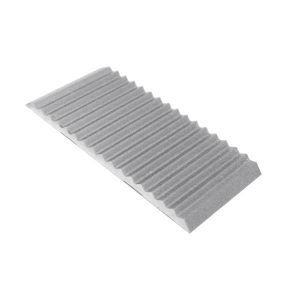 DTA Trim Aluminium Tread Plate Matte Silver