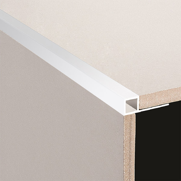 DTA Trim Box Square Edge Bright Silver