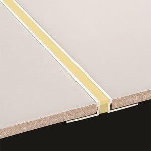 DTA Trim Expansion Aluminium Sandstone Polyurethane
