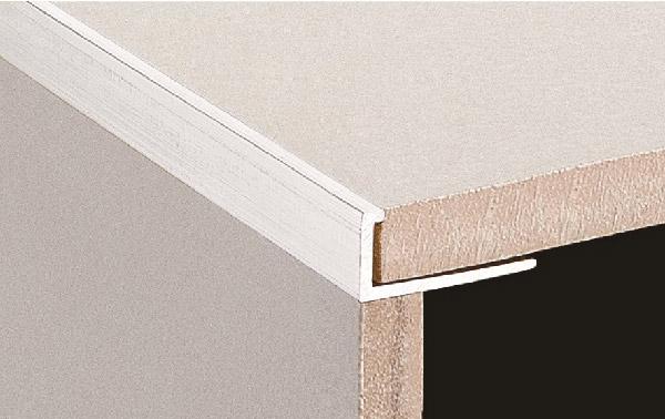 Dta Tile Trim L Shape Angle 12mm Chrome Brass 2 8 Metre