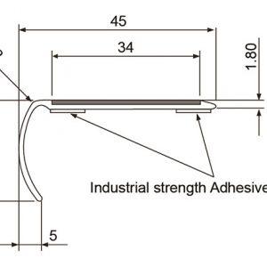 DTA Trim Light Bull Nose specifications