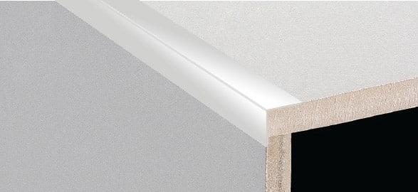 DTA Trim Retro Fit L-Shape Bright Silver