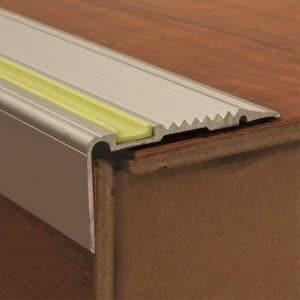DTA Trim Stair Tread Aluminescent anti-slip adhesive