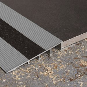 DTA Trim Transition Ramp Matte Silver