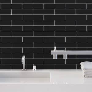 Easy Black Matte tiles