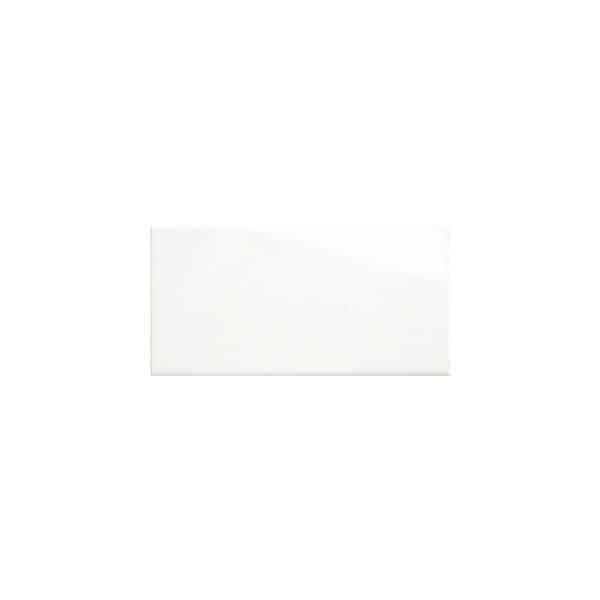 Subway Pressed Edge White Wall tiles