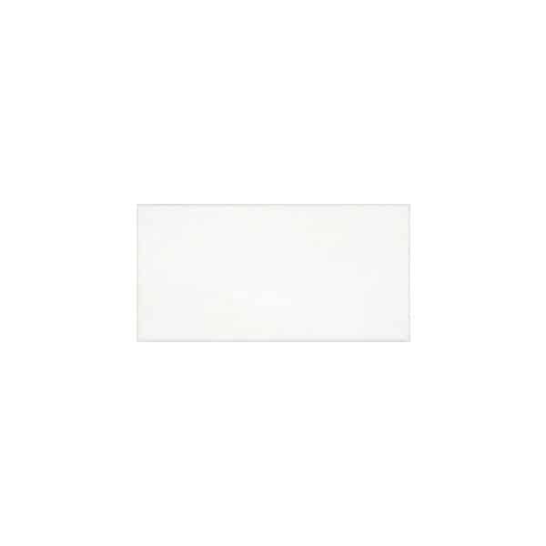 White Matte Subway Pressed Edge tiles