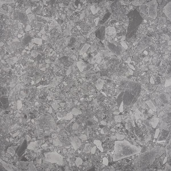 Terrazzo Grey Concrete Look Internal Matte Tiles 600x600