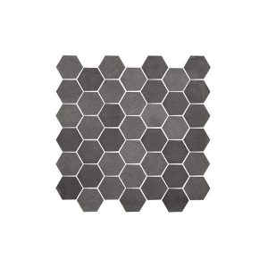 Graphite Stone Hexagon tile sheet