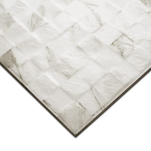 3D Carrara Mosaic tiles