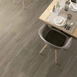 Ever Walnut timber look tiles