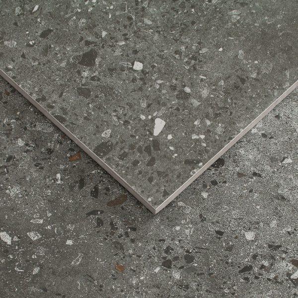 Bohemia Charcoal Polished tiles