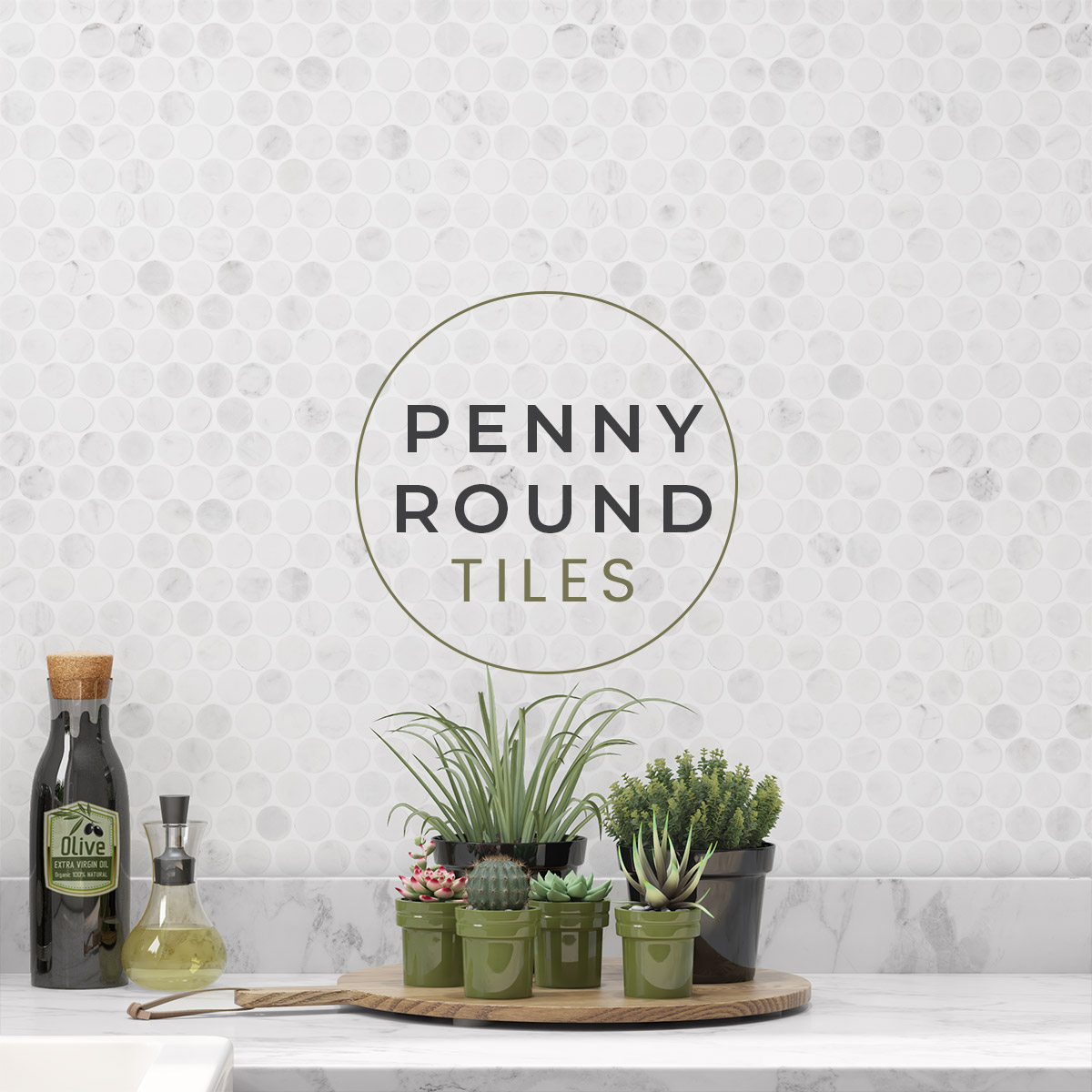 Penny Round tiles