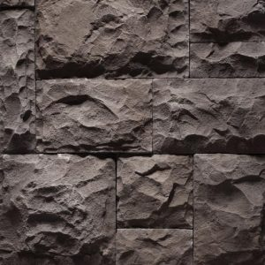Medieval Castle Charcoal Black Stone Cladding