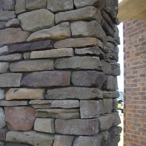 Mountain Ledgestone Merlot Stone Cladding