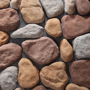 River Rock Multi Bianco Stone Cladding