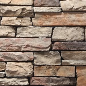 Stacked Ledgestone Cabernet Stone Cladding