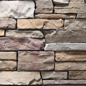 Stacked Ledgestone Merlot Stone Cladding