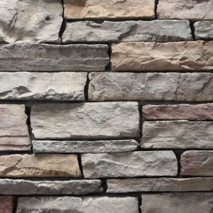 Stacked Ledgestone Urban Mist Stone Cladding