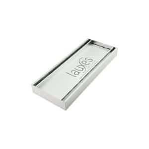 Lauxes Floor Grate Celleni Aluminium Slimline tile insert