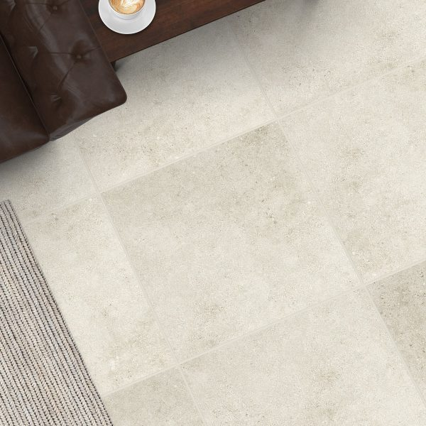 Lifestone White tiles