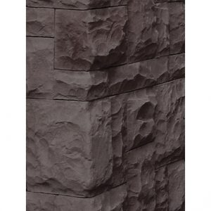Medieval Castle Charcoal Black corner cladding