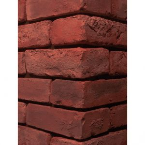 Old Used Bricks Persian Red Stone Corner Wall Cladding