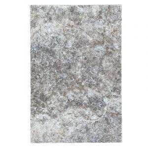Silver Travertine Tumbled Stone pavers