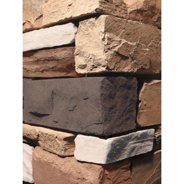 Stacked Ledgestone Apache Wall Cladding corner