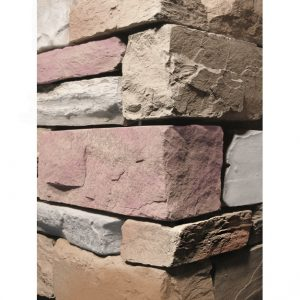 Stacked Ledgestone Merlot Wall Cladding corner