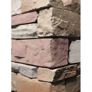 Stacked Ledgestone Merlot Wall Cladding corner
