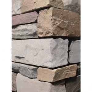 Stacked Ledgestone Urban Mist Wall Cladding corner