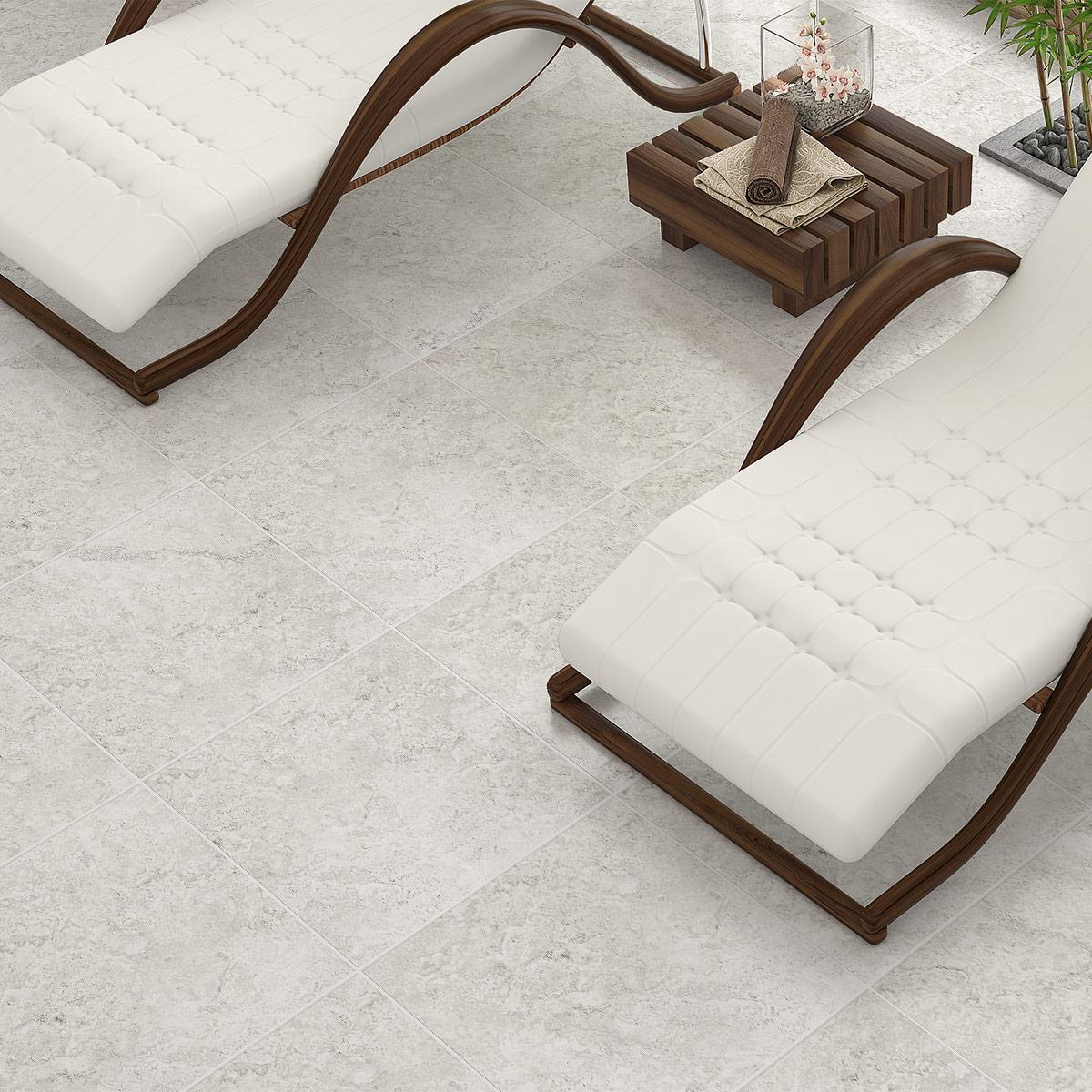 Travertine Stone Silver External tiles
