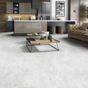 Travertine Stone Silver tiles