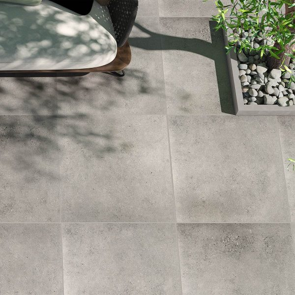 Lifestone Light Grey External floor tiles