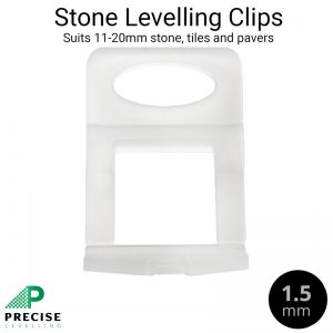 Precise Levelling System Stone Clips 1.5mm