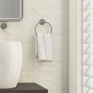 Wave Bone gloss wall tiles