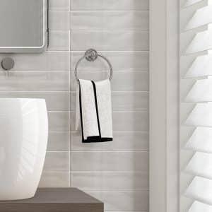 Wave Gray gloss wall tiles