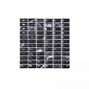 3D Marquina Black Mosaic tile sheets