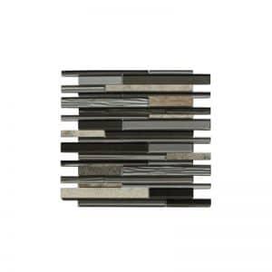 Arki Stone Mixed Bullet Lyca Mosaic tile sheet