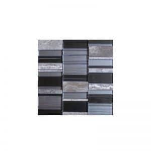 Arki Stone Mixed Strips Lyca Mosaic tile sheet