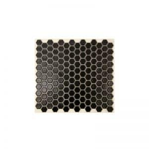 Black Matte Hexagonal tiles