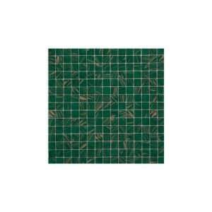 Bottle Green/Copper Mosaic Poolsafe tiles