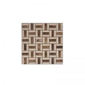 Champagne Gemstone Mosaic tile sheet