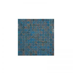 Ice Blue/Copper Mosaic Poolsafe tiles